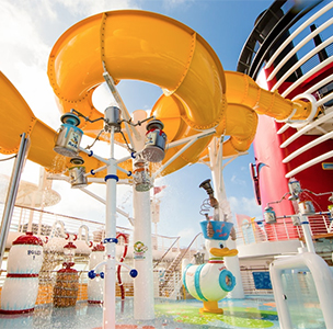 Disney Cruise Water Slide