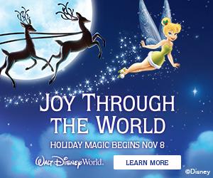 Disney Holiday Travel